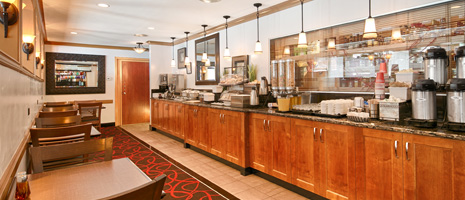 Best Western Columbia River Hotel - Breakfast