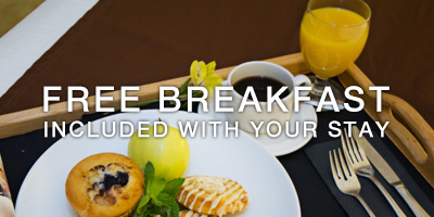 Free Breakfast With Your Stay